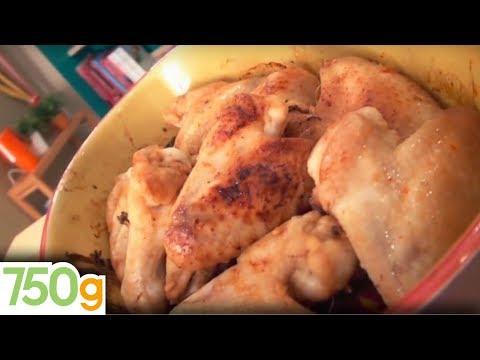 recette-d'ailerons-de-poulet-au-four---750g