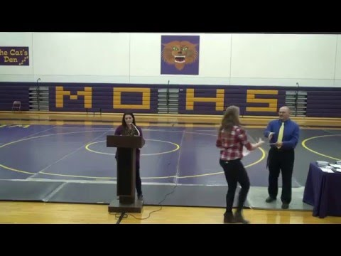 Winter Sports Awards Ceremony - March 17, 2016