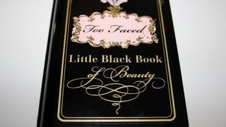 Too Faced Little Black Book Of Beauty Review Thumbnail