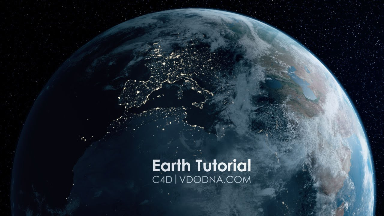 Photo Realistic Earth in 10 min, Cinema 4D Tutorial   YouTube