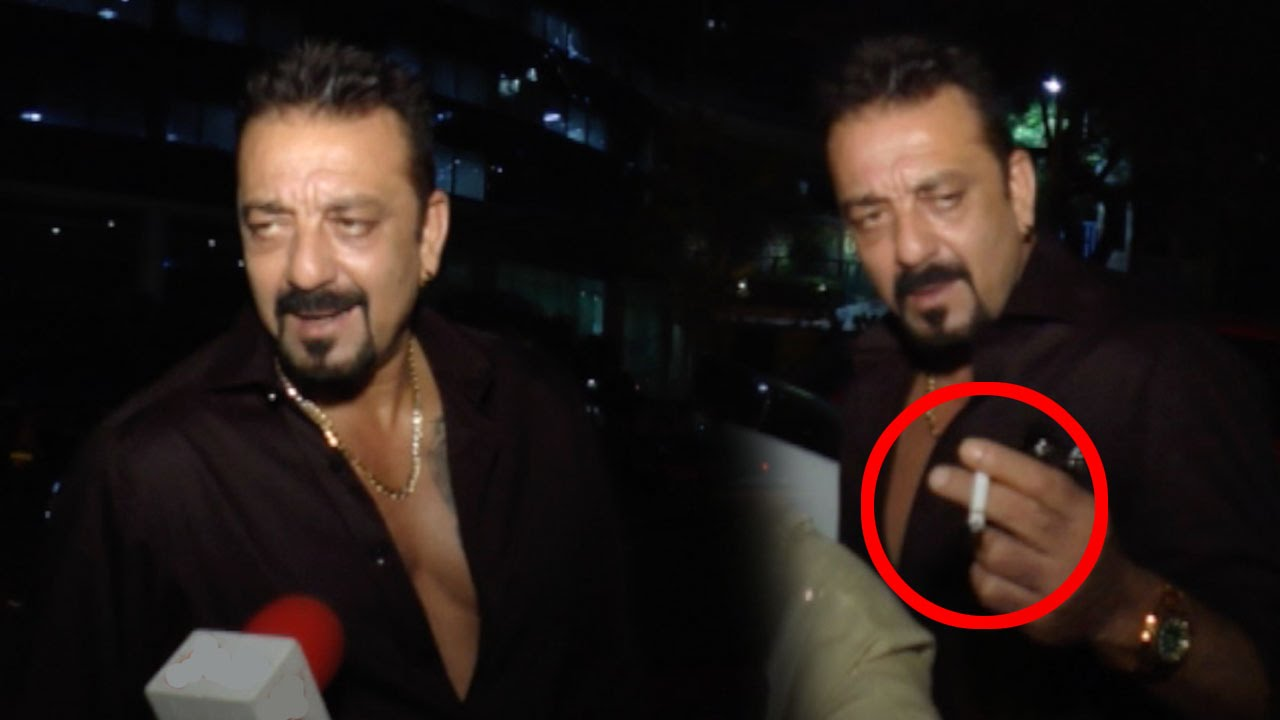 DRUNK Sanjay Dutt Replies Rudely To A Reporter - YouTube