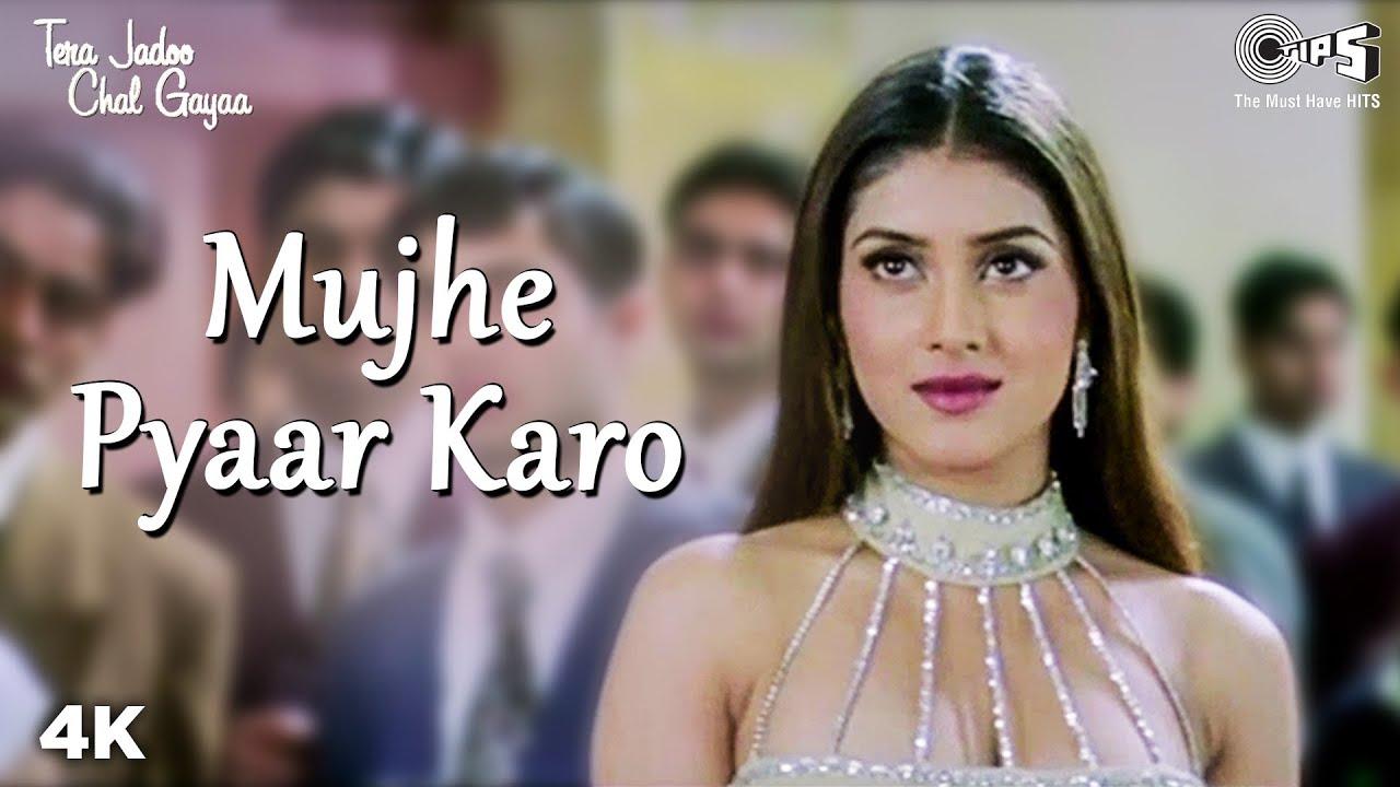 Download Mujhe Pyaar Karo | Abhishek B | Kirti Reddy | Sonu N | Alka Y | Tera Jadoo Chal Gayaa | Hindi Song