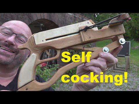 Wooden Slingshot Pistol Is Amazing!