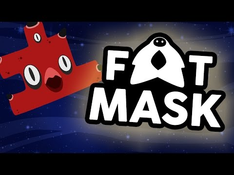 Fat Mask - #1 - Ruining Friendships by Stealing Blocks (4 Player Gameplay)