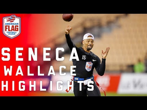 Seneca Wallace dominates Flag Football League! | NFL