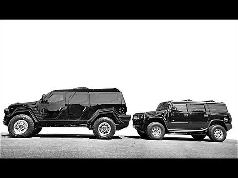 Knight Xv Vs Hummer H2 Youtube
