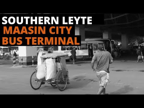 Maasin City Southern Leyte Bus Terminal and Gaisano Metro Hi-PER