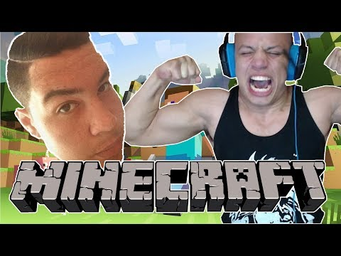 TYLER1 & GREEK PLAY MINECRAFT [2017]