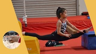 Kaitlyn Lam - Gymnastics Training Levels 4,5,6,7 Skills / Routines - Montage