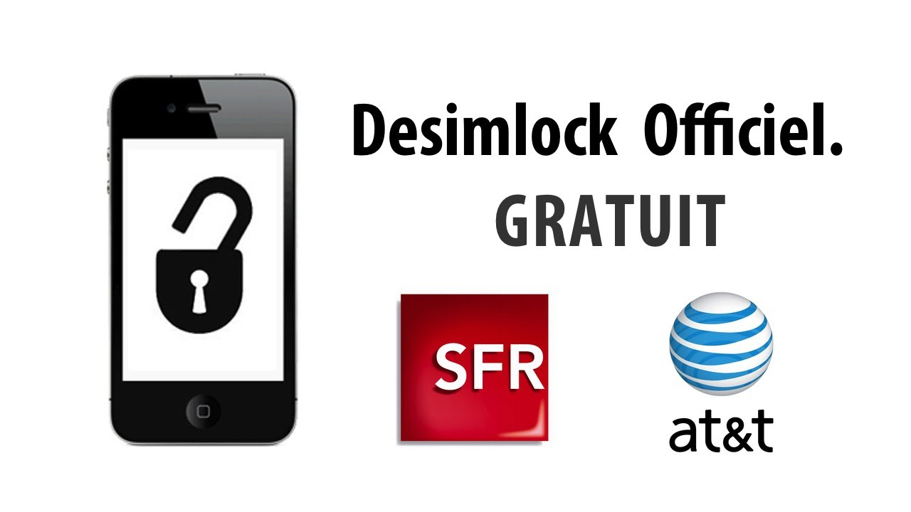 desimlock officiel gratuit pour iphone 5 4s 4 3gs 3g sfr et at t jusqu 39 au 30 septembre. Black Bedroom Furniture Sets. Home Design Ideas