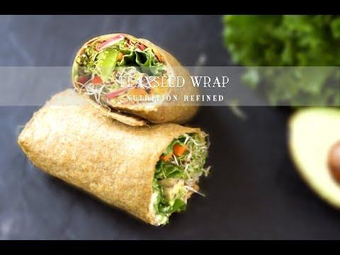 Flaxseed Wraps | Vegan, Paleo, Keto