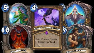 [Hearthstone] Astral Reno Highlights (Funny Plays, Deck Highlight)
