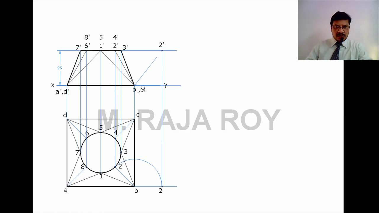 Engineering Drawing Video Tutorial by M Raja Roy