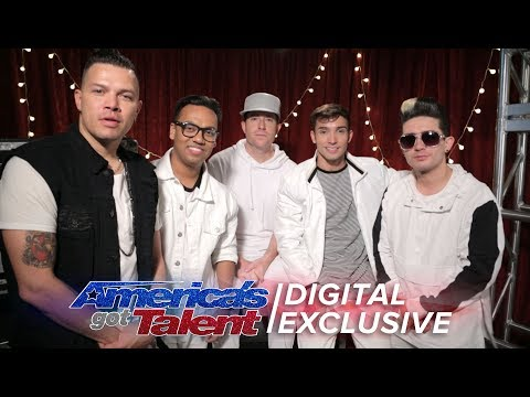 5 Alive Can't Contain Their Excitement About AGT - America's Got Talent 2017