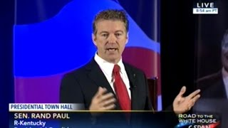 Rand Paul The Constitution Was NOT Written To Restrain YOU But To Restrain The Government!