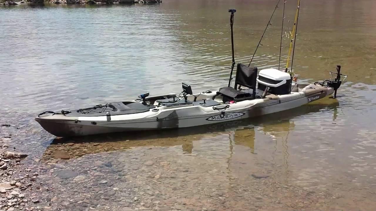 DIY Malibu X Factor Kayak Trolling Motor AMP Draw Testing