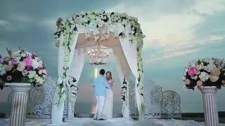 Свадьба на берегу моря. ZMstudio +7(928)800-12-12