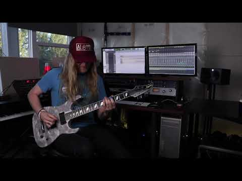 KOBRA AND THE LOTUS - Burn! Guitar Playthrough   Napalm Records