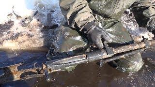 Нашли оружие, Разорванного  немца,  и другие находки в болоте