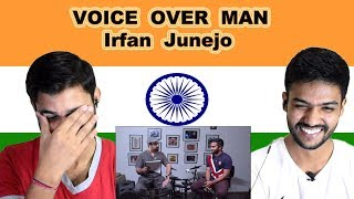 Indian reaction on Irfan Junejo Interview | VOICE OVER MAN | Swaggy d