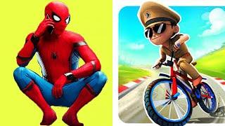 SPIDER MAN vs Little Singham / WHO WINS ?