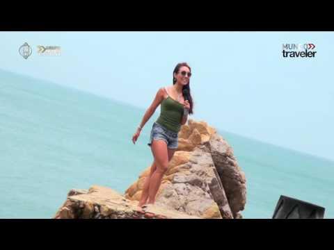 La quebrada el destino más atrevido de Acapulco con Denisse Wolf