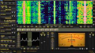 1070 KHz KNX Los Angeles, CA. | Medium Wave DX | Perseus SDR from Michigan