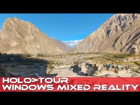 MIXED VIRTUAL REALITY - HOLOTOUR - Tour Peru and Rome