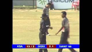 Best Cricket Batting By KSA All Rounder Hammad Saeed in Nepal - Part 2