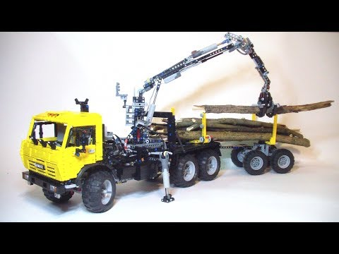 Lego technic KAMAZ 43118 timber truck
