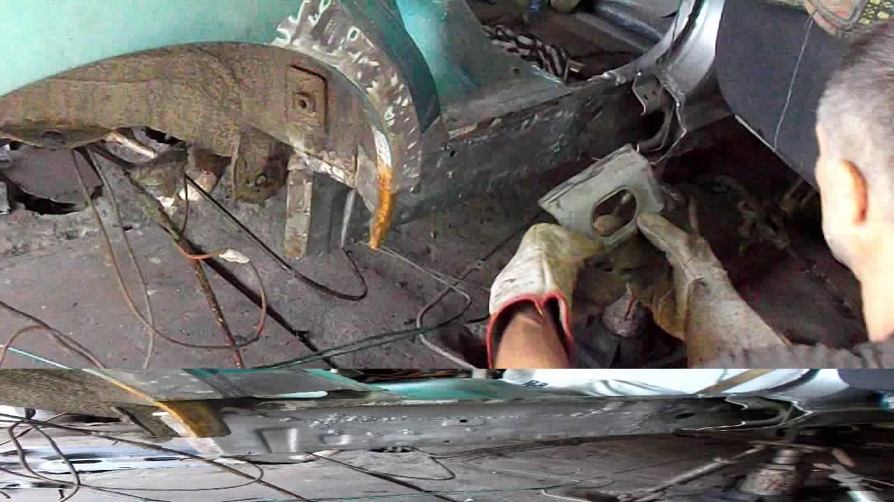 Honda CR V . Кузовной ремонт Часть 4 .body repair