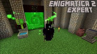 Opening The Portal and Small Cleanups : Enigmatica 2 Expert Lp Ep #66 Minecraft 1.12