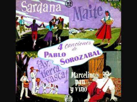 """Pablo Sorozábal - «Marcelino» de la BSO de """"Marcelino pan y vino"""" (Ladislao Vajda, 1955)"""