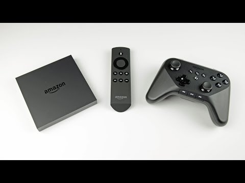Amazon Fire TV & Game Controller: Unboxing & Demo