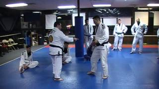 Chris Savarese shows Ouchi Gari variation | Lyndhurst Martial Arts| Bergen County BJJ