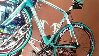 จักรยานเสือหมอบ Bianchi C2C สีสวย แต่งสวย ครบSet  @sky Lane