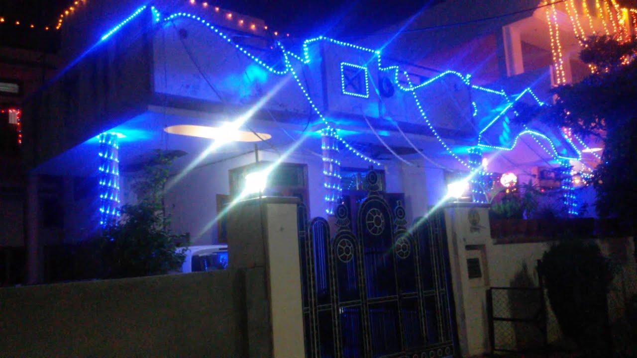 DIWALI LED HOME DECORATION - YouTube