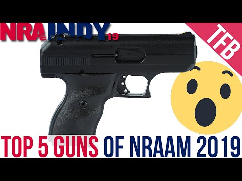 Top 5 Guns From The 2019 NRA Show [NRAAM 2019]