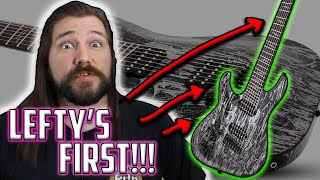 Lefty's FIRST 7-String Guitar (UNBOXING) Schecter Silver Mountain | Mike The Music Snob