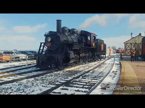 Strasburg Rail Road opening weekend Feb 18 2018