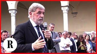 Genova, esplosivi per la demolizione del ponte Morandi: alta tensione tra sindaco e cittadini