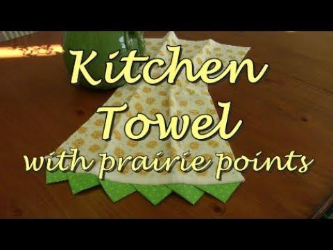 Prairie Point Towel Border