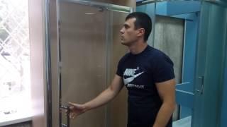видео Душевые двери