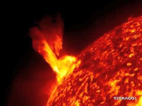 solar dynamic observatory le spettacolari immagini del sole