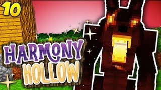GIANT HALLOWEEN WEREWOLF! Minecraft Harmony Hollow EP10 - Modded SMP S4