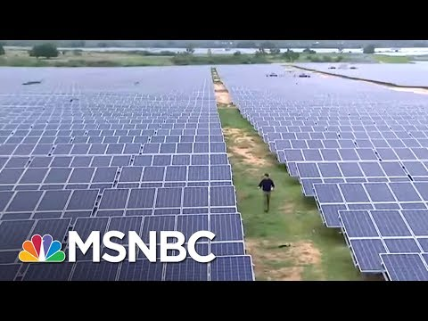 China Leaving United States Behind On Green Energy Jobs | On Assignment with Richard Engel | MSNBC