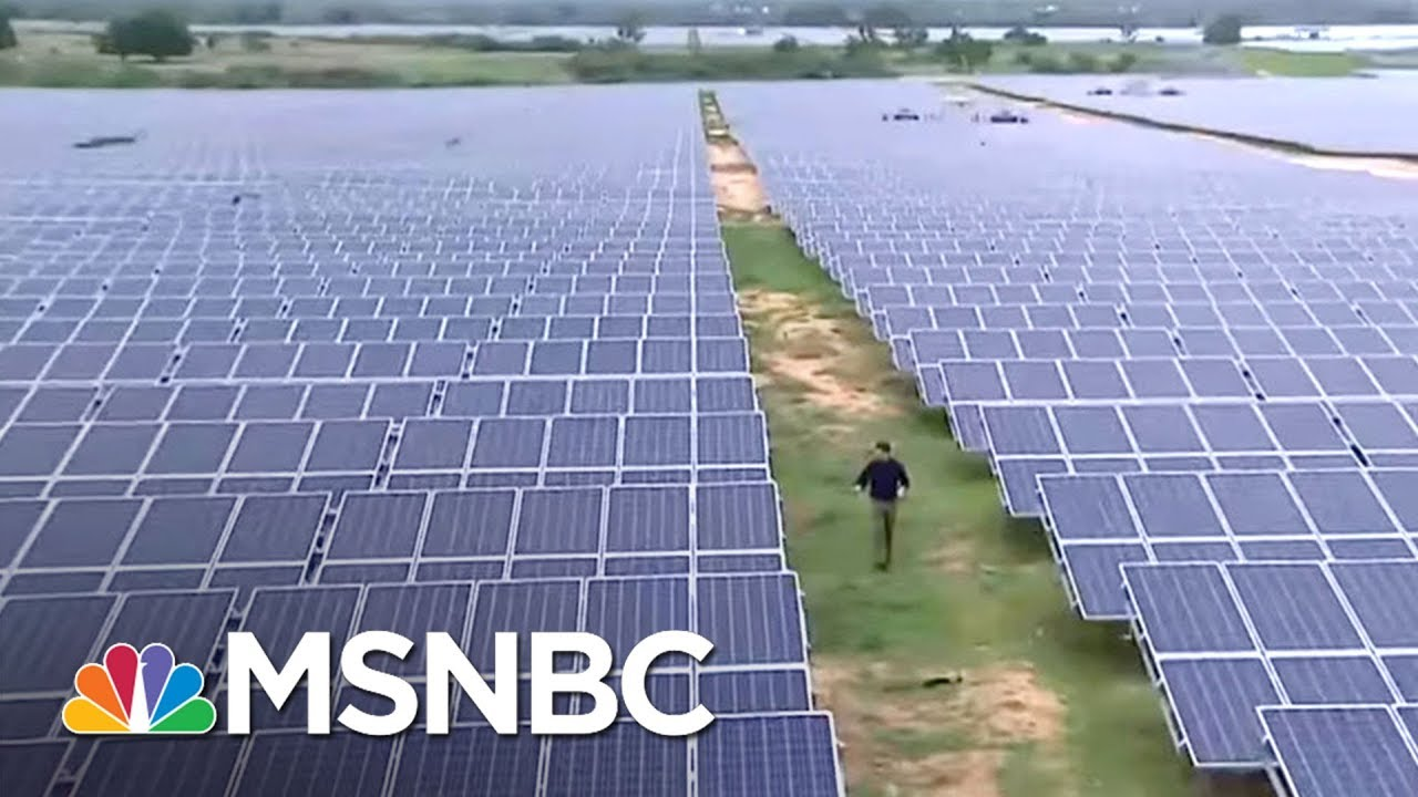 China Leaving United States Behind On Green Energy Jobs   On Assignment  with Richard Engel   MSNBC