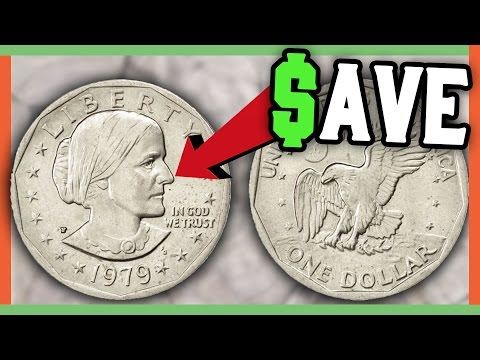 RARE SUSAN B ANTHONY DOLLAR COINS WORTH MONEY - VALUABLE US