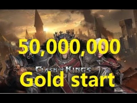 Clash Of Kings Private Server 50000000 Gold