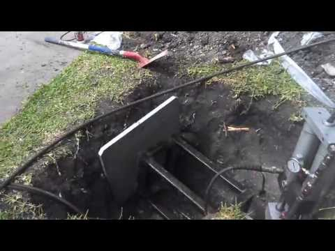 Pipe Bursting Trenchless Sewer Replacement